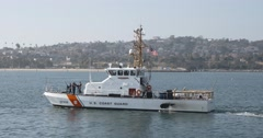 Coast Guard Cutter 04 - stock footage