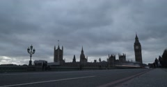 Big Ben & Westminster Bridge | 4K Timelapse Stock Footage
