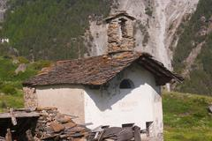 tarabouc,cogne,val of aosta,italy - stock photo