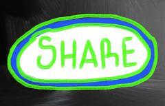 Share concept Stock Photos