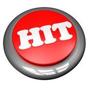 hit - stock illustration