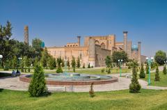 Samarkand in turkmenistan Stock Photos