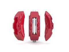 Brake caliper and brake disc Piirros