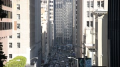 San Francisco Traffic Stock Footage
