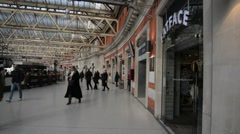 Waterloo Railway Station London 25 Stock Footage