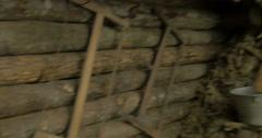 German bunker 02 Stock Footage