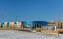 upsher-smith laboratories headquarters - stock photo
