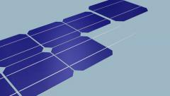 The Making of Solar Panel 36cells-18v, HD_ PAL Stock Footage