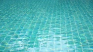 Stock Video Footage of Shining Blue Water Ripple Background. Speed up
