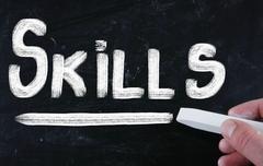 Stock Photo of skills concept