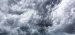 Big storm cloud Stock Photos