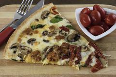 Artisan pizza Stock Photos