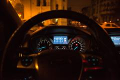 Ford Focus Dashboard Lights Stock Photos