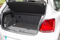 Car trunk Stock Photos