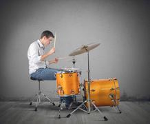 Drummer Kuvituskuvat