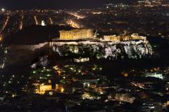 The Acropolis of Athens - stock photo