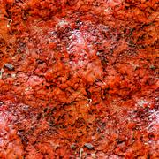 abstract seamless texture of stone red wall - stock illustration