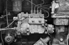 Diesel engine Stock Photos