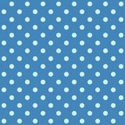 White spotted blue fabric - stock illustration