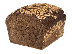 Coarse rye bread Stock Photos