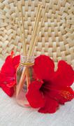 Hibiscus air freshener sticks Stock Photos
