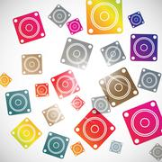 Stock Illustration of abstract background: dynamic