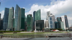 4K (4096 x 2304) Hyperlapse of Singapore Landscape Stock Footage