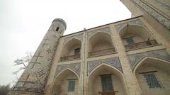 the ancient institution of Islam.Uzbekistan,Tashkent - stock footage