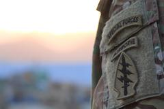 Photo of Special forces insignia - stock photo