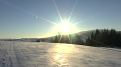 Winter nature 3 Stock Footage