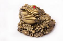 Toad Feng Shui Stock Photos