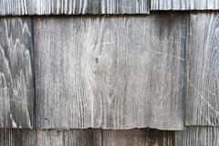 many small pieces of wood rectangular shape arrange into layers - stock photo