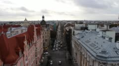 Riga Up High - stock footage