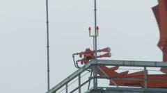 AIRPORT RADAR CLOE-UP Stock Footage