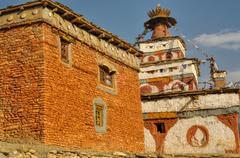 Buddhist shrine - stock photo