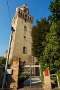Astronomical Observatory La Specola Tower Stock Photos