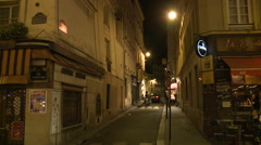 Paris, streets view Stock Footage