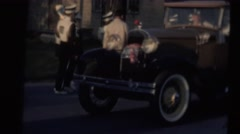 Model A ,parade Stock Footage