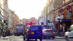 London - Earl's Court Timelapse 4K Stock Footage