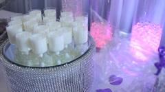 Sour milk, Arabic specialtie Stock Footage