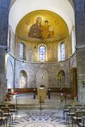 Abbey of the Dormition in Jerusalem . - stock photo
