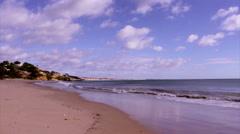 Algarve - St Eulalia Beach Still B Stock Footage