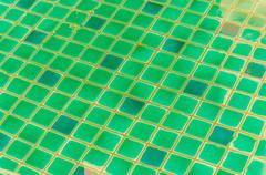 Water ripples of swimming pool Stock Photos