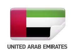 United Arab Emirates Icon Stock Illustration