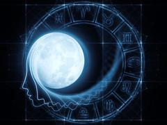 Lunar Attraction Stock Illustration