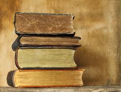 Ancient books. Stock Photos