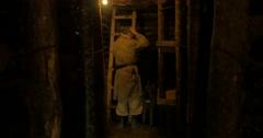 German soldier bunker 14 Stock Footage