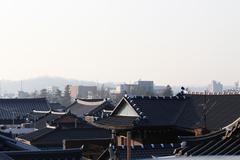 Korean-style house, korea traditional house Kuvituskuvat