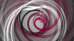 Wonderful video animation with moving stripe object, loop HD 1080p Stock Footage
