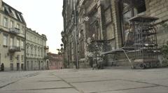 Lithuania, Vilnius, Uzupis 2 - stock footage